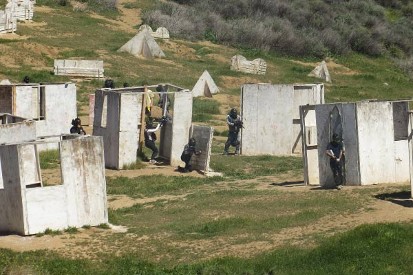 Warped Paintball Park